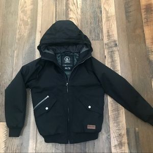 Volcom winter coat boy 12